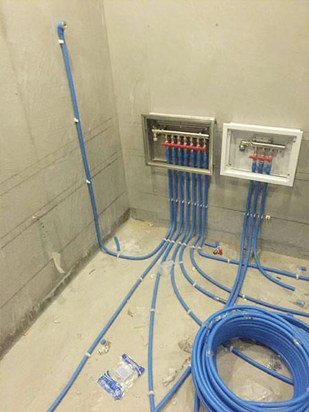 重庆大学PPR管材管件案例现场-2