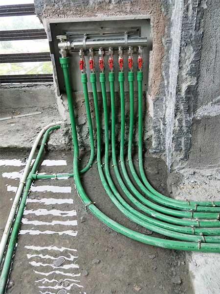 贵州医科大学PPR管材管件案例现场-2